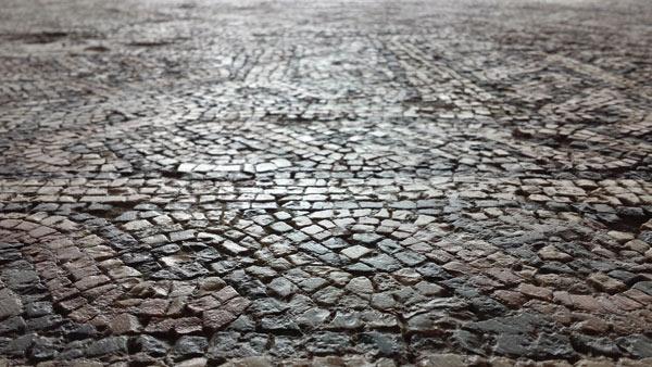 Mosaico en el MARM