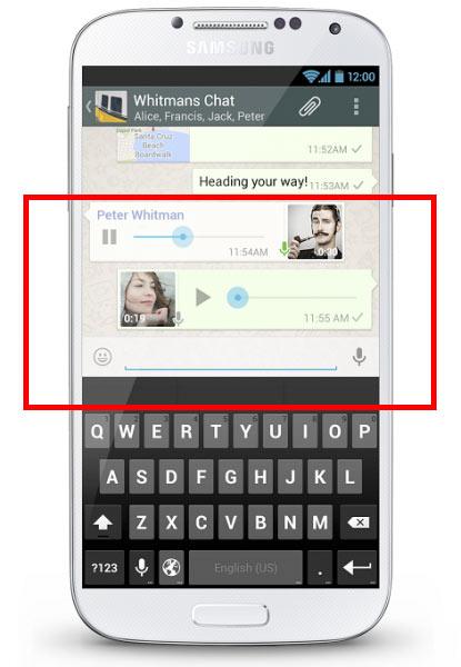 WhatsApp para Android se actualiza para mejorar los mensajes de voz