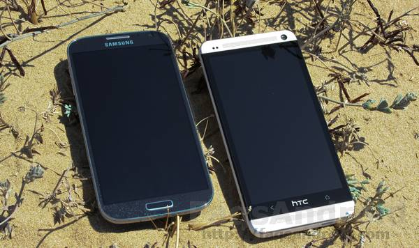 Comparativa en vídeo HD del HTC One vs Samsung Galaxy S4