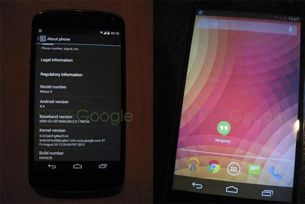 Se filtran tres imágenes de Android 4.4 Kit Kat: llamadas, SMS y launcher