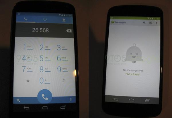 Se filtran tres imágenes de Android 4.4 Kit Kat: navegador, SMS y llamadas