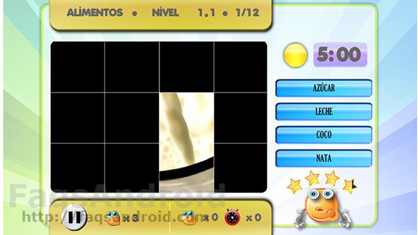 Image Quiz es un nuevo juego android en el que adivinar nombres