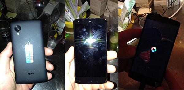 Nexus 5: se filtran nuevas imágenes, benchmarks y vídeo