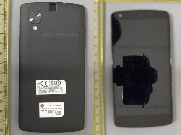 Nuevas imágenes filtradas del Nexus 5 en la FCC americana