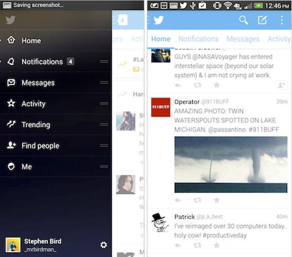 Twitter para Android actualiza la app a 5.0 pero aún no en Google Play Store