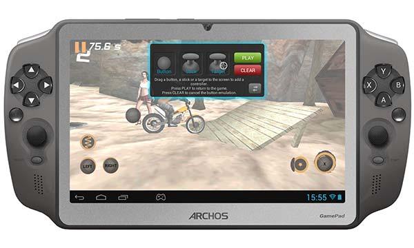 consolas Android portátiles: Archos Gamepad
