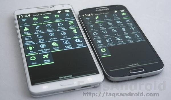 Posible actualización a Android KitKat 4.4 para los Samsung Galaxy S4 y Samsung Galaxy Note 3