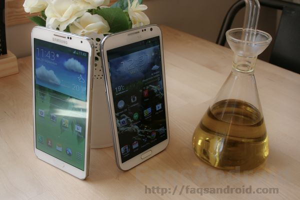 Galaxy Note 2 vs Samsung Galaxy Note 3