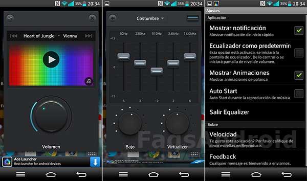 5 aplicaciones para mejorar el sonido en Android con ecualizador: Music Equalizer