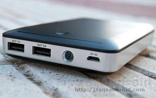 Análisis de la batería externa para móviles RAVPower: 14.000 mAh de carga