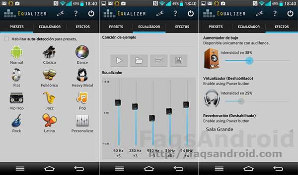 5 aplicaciones para mejorar el sonido en Android