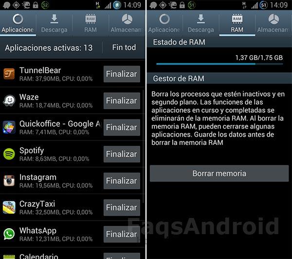 #AndroidWars: ¿cuánta memoria RAM es suficiente para un móvil o tablet?