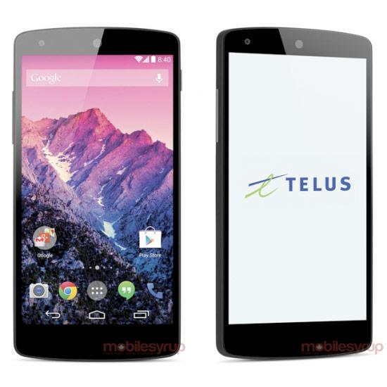 Imagen de prensa filtrada del Nexus 5 con Android 4.4