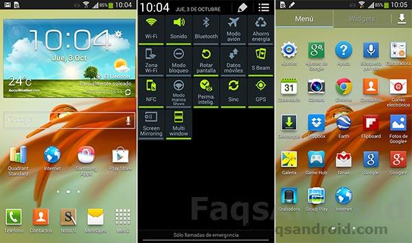 Ya podemos actualizar el Samsung Galaxy Note 2 a Android 4.3 por Kies