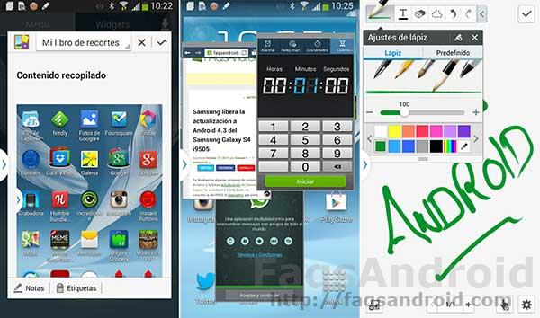Análisis del mod del Samsung Galaxy Note 3 para el Galaxy note 2