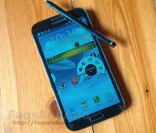 Más datos sobre el Samsung Galaxy Note 3 Lite: pantalla HD y Android 4.3 Jelly Bean