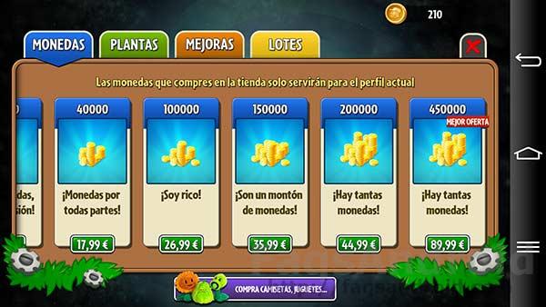 Plants vs Zombies 2 ya en la Google Play Store: Zombies y viajes en el tiempo