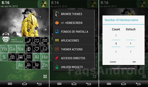 Themer, un launcher y gestor de temas con opción a cambiar de aspecto con un click