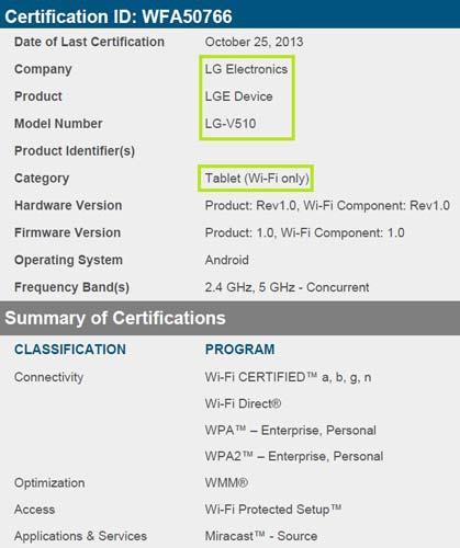 Bluetooth-Nexus-10-LG