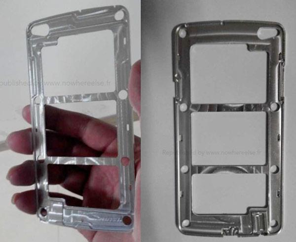 Se filtran imágenes del marco del Samsung Galaxy S5