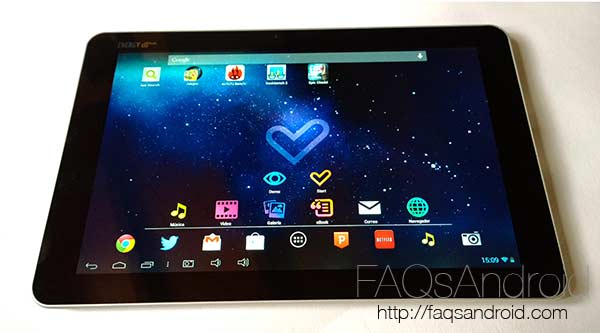 Review de la Energy Tablet x10 Quad con análisis en vídeo HD