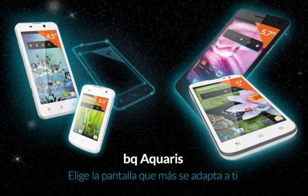Familia BQ Aquaris