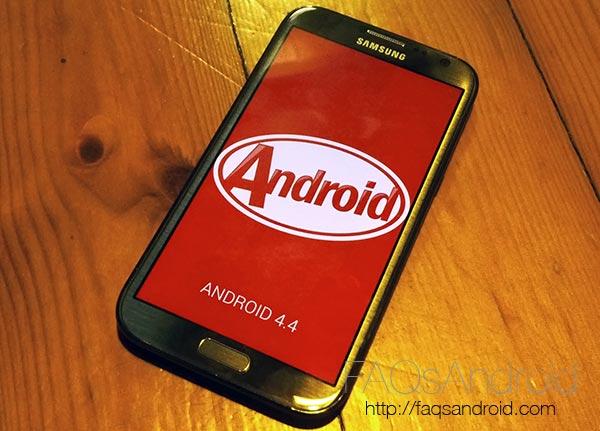 OmniRom: una ROM con Android KitKat 4.4 para el Samsung Galaxy Note 2