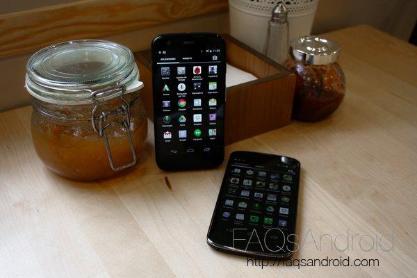 Comparativa del Motorola Moto G y Nexus 4 en vídeo
