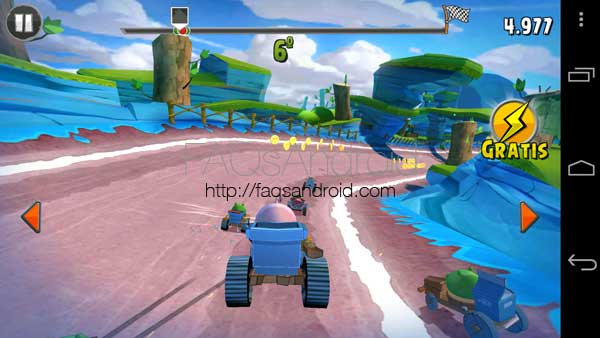 Angry Birds GO! para Android