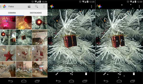 Google-plus-efecto-nieve-fotos