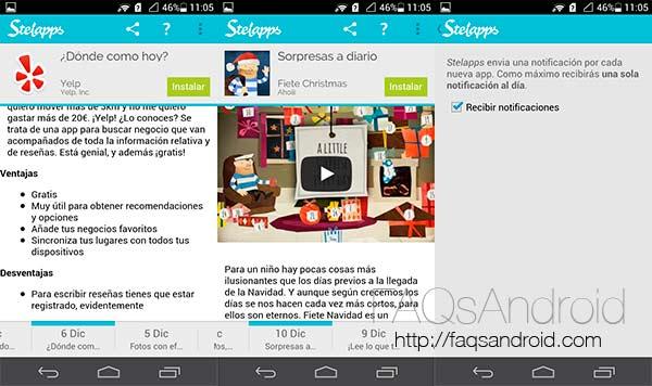 Descubre nuevas aplicaciones android con StelApps