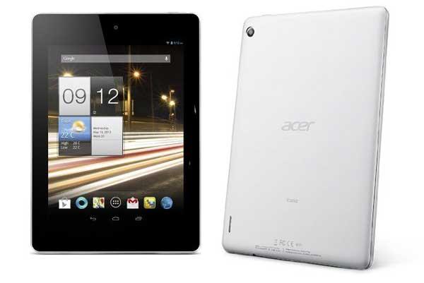 5 tablets Android de calidad por menos de 200 euros: Acer Iconia A1-810