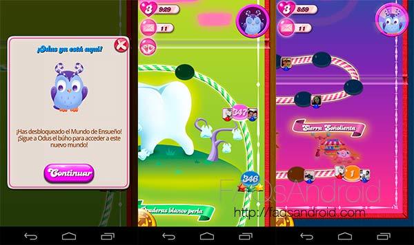 Los mejores juegos Android del 2013: Candy Crush Saga