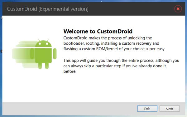 Custom Droid, un prometedor instalador de ROMs con desbloqueo de bootloader y más