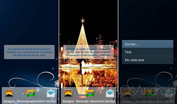 Aplicaciones y frases para felicitar la Navidad: Feliz Navidad - Mensajes