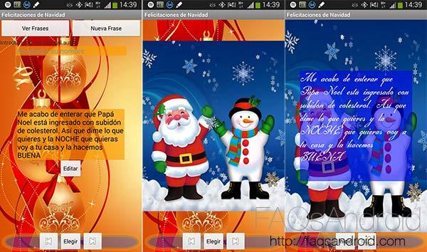 Aplicaciones y frases para felicitar la Navidad: Felicitaciones de Navidad 2014