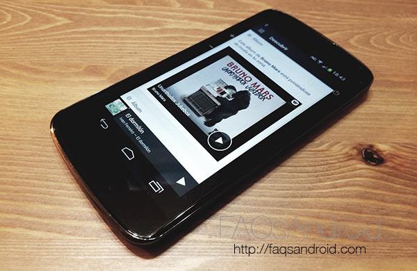 Spotify para Android se vuelve gratis con algunas restricciones