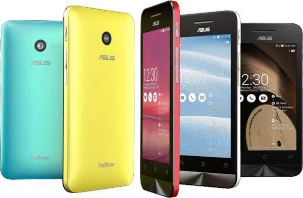 Asus Zenfone 4, Zenfone 5 y Zenfone 6