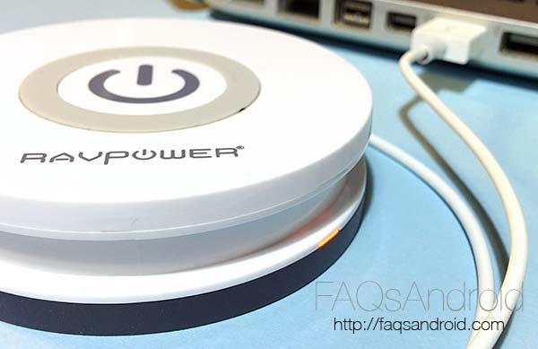 Análisis del cargador inalámbrico RAVPower: carga portátil por Qi