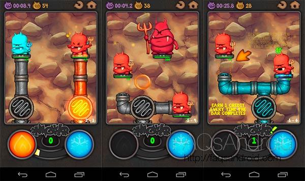 Análisis de Devils, un simpático juego para Android