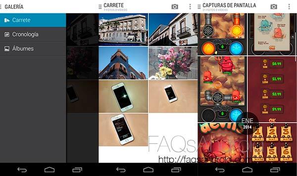 Motorola actualiza la app android de galería en Google Play Store