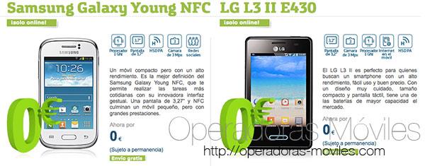 Movistar ofrece dos móviles Android a 0 euros con contrato