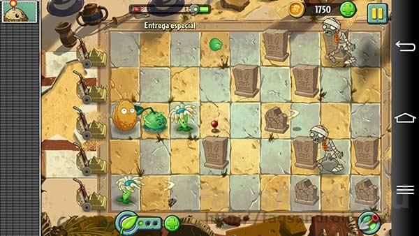 Los mejores juegos Android del 2013: Plants vs Zombies 2