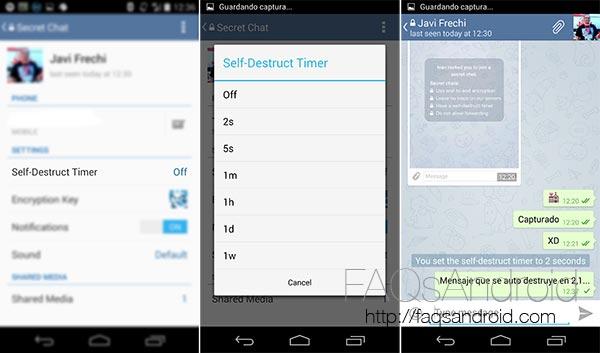 Guía de uso de Telegram para Android con instalación y trucos