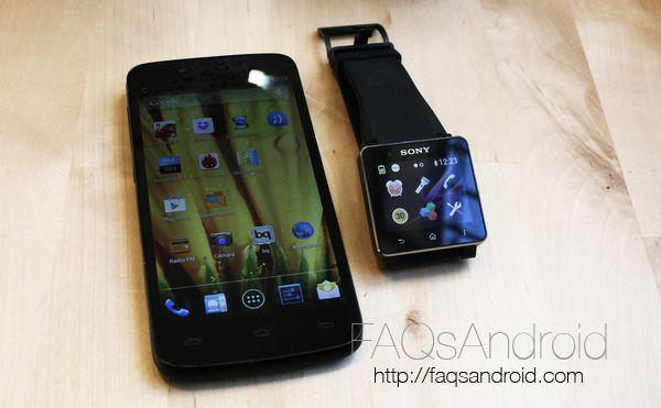 Análisis del reloj android Sony Smartwatch 2 en vídeo HD