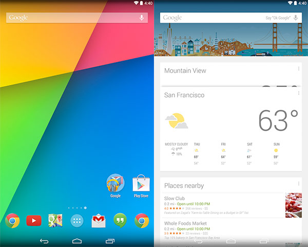 Ya se puede descargar e instalar Google Now Launcher del Play Store