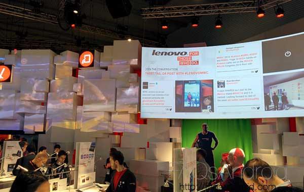 Un breve repaso al stand de Lenovo en el Mobile World Congress 2014