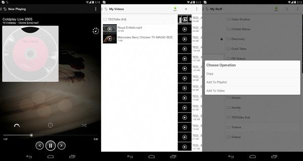 Cómo reproducir vídeos desde el PC en un Android TV