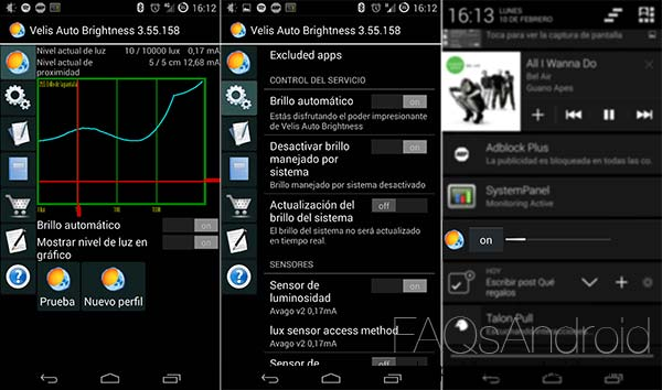 Dos aplicaciones para mejorar el brillo de la pantalla automático: Lux y Velis