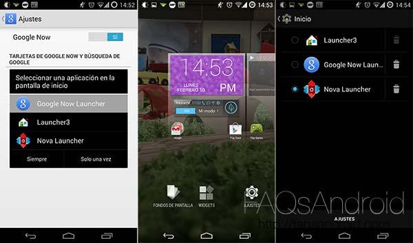 Cómo instalar Google Now Launcher en otros Android aparte del Nexus 5